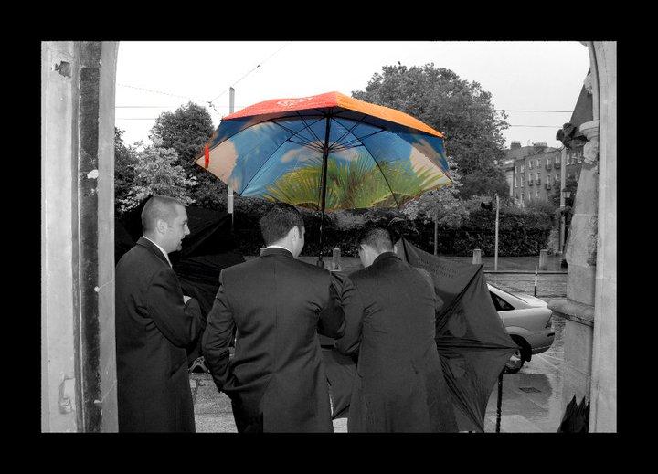 Rain on your wedding day David McAuley