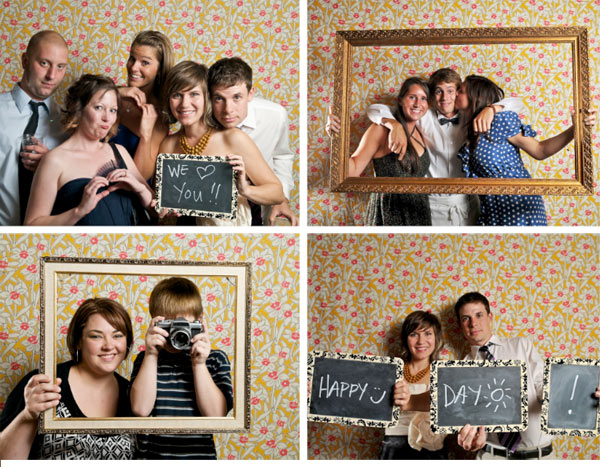 DIY wedding photobooth david mcauley  photography